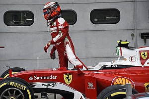 Формула 1 Комментарий Райкконен не попал на подиум из-за повреждения машины в аварии, уверен Арривабене