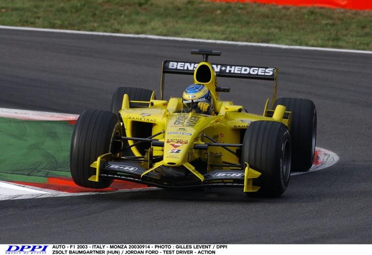 Egy kör Baumgartner Zsolttal a Jordan volánja mögött Monzában