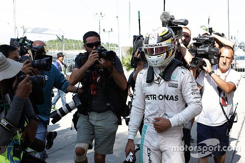 """Hamilton: """"Moeilijk seizoen een test voor mijn geest en wilskracht"""""""