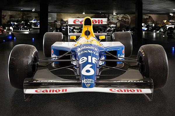 Formule 1 Diaporama La Williams FW14B victorieuse à Suzuka est à vendre