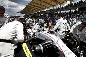 F1 Noticias de última hora Williams probará un nuevo cinturón de seguridad en Suzuka