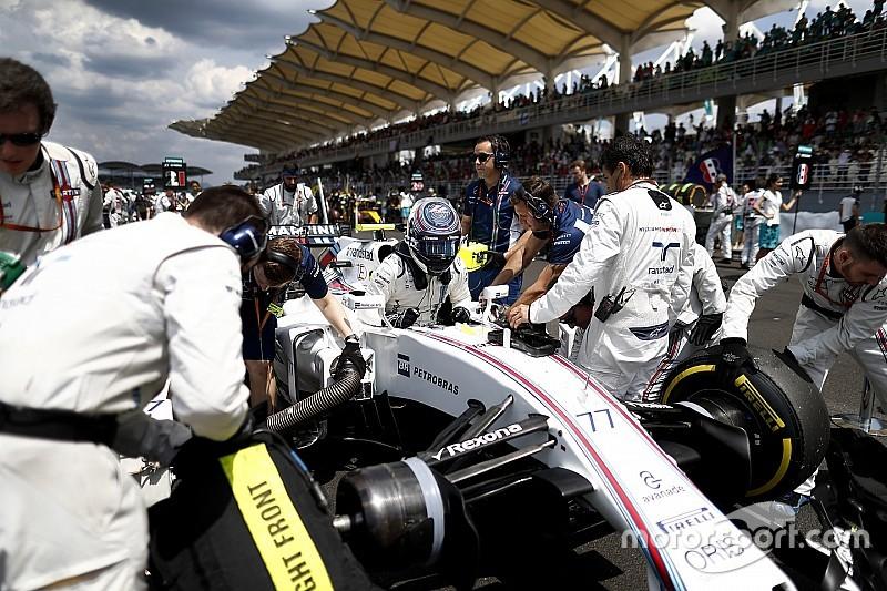 Williams probará un nuevo cinturón de seguridad en Suzuka