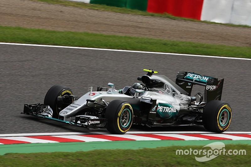 日本大奖赛FP2:梅赛德斯包揽前二,法拉利落后0.3秒