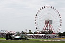 日本GP FP2:金曜日はメルセデスがトップタイム。前戦勝者リカルドはトップ10から外れる。