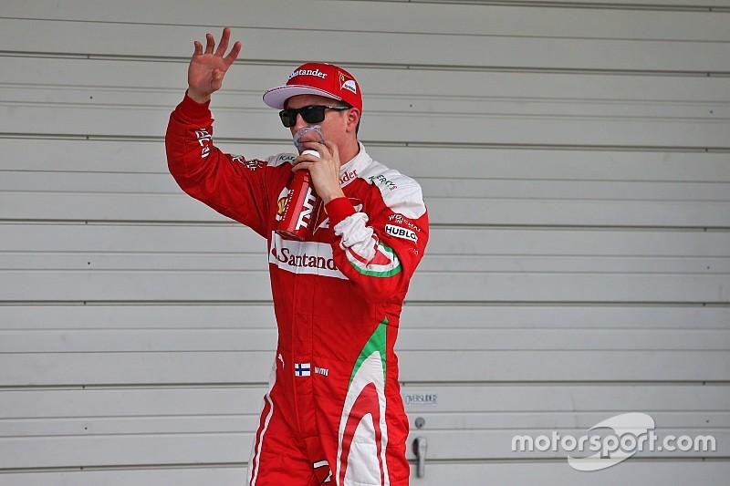 Raikkonen positief verrast over Ferrari's vorm in Japan