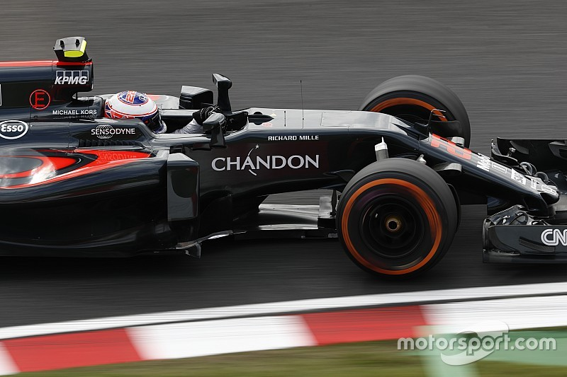 Баттона не удивила низкая скорость McLaren на Сузуке