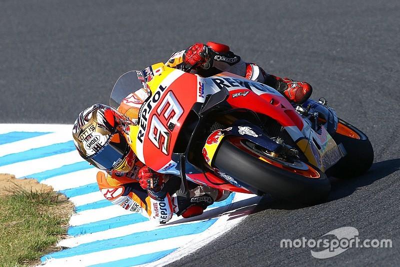 """Márquez: """"El objetivo es estar en el podio, no la victoria"""""""