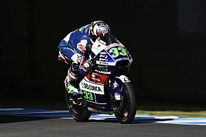 Moto3 Reporte de la carrera Bastianini se crece ante Binder y gana en Moto3