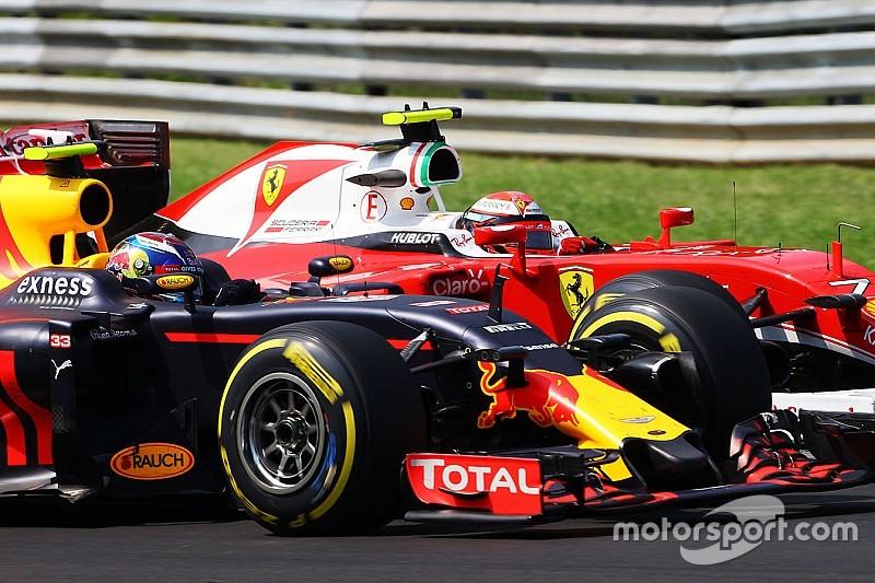 Raikkonen no tiene nada en contra del pilotaje de Verstappen