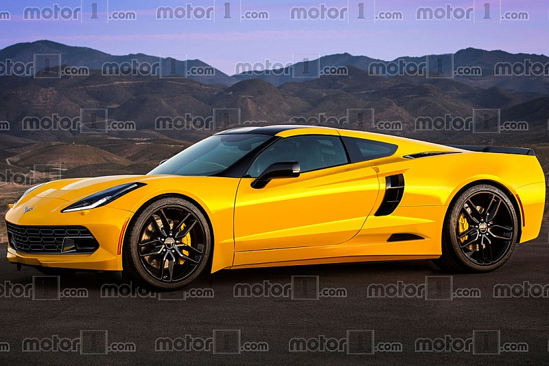 Et si c'était la future Corvette C8 à moteur central?