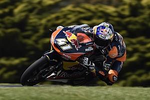 Moto3 Relato da corrida Em prova marcada por acidente, Binder vence sexta no ano
