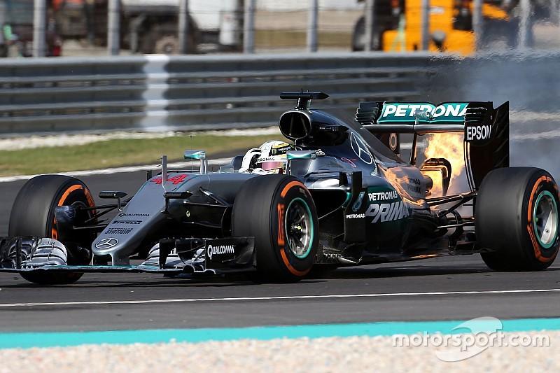 """Mercedes todavía arrastra el """"trauma"""" por el fallo del motor en Malasia"""