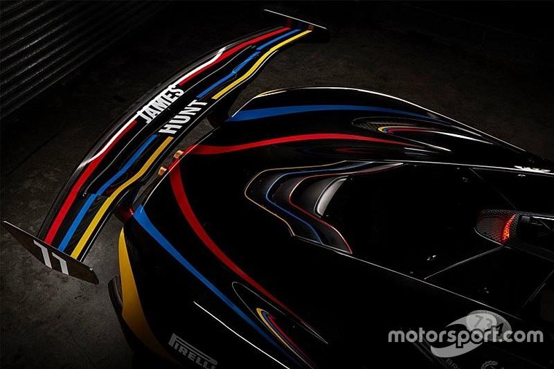 Galería: McLaren P1 GTR, un homenaje a James Hunt - Automotive Noticias