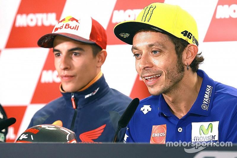 Mening van Rossi over Marquez-clash blijft onveranderd