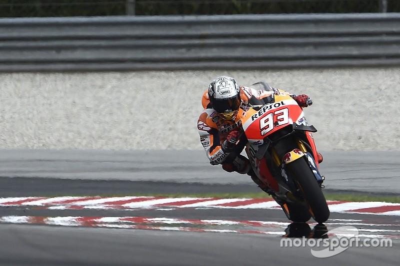 Eerste training GP Maleisië: Marquez leidt de dans op Sepang