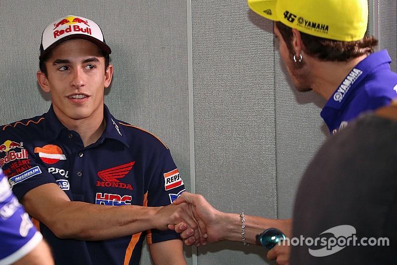 Rossi y Márquez, año uno después