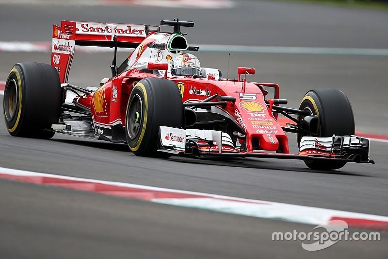 GP Meksiko: Ungguli Hamilton, Vettel menjadi yang tercepat di FP2