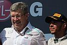Hamilton lovend over Brawn: