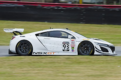 Peter Kox racet met Acura NSX GT3 in Pirelli World Challenge