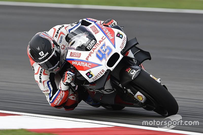 Redding, resignado a que Petrucci se quede con la Ducati de 2017