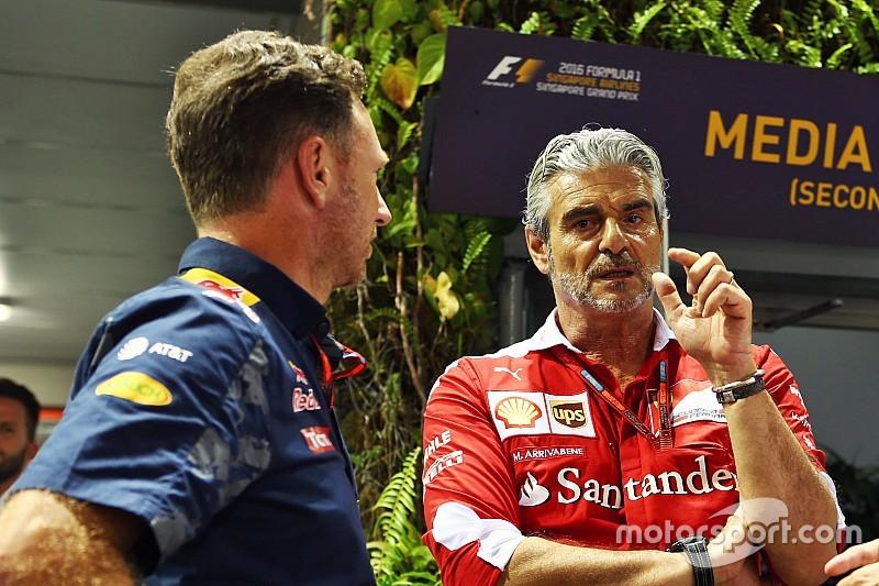 Horner cuestiona el recurso de Ferrari por la sanción a Vettel