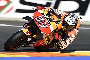 MotoGP Practice report MotoGP Valencia: Marquez pimpin FP3, Rossi kesembilan
