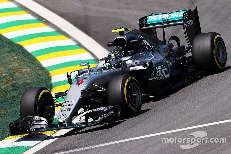 GP Brasil: Rosberg kalahkan Hamilton di FP3
