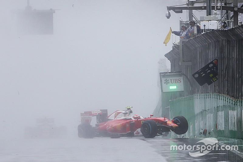 Райкконен назвал дождевые шины непригодными для гонок