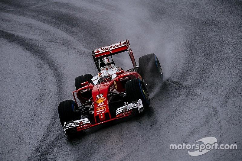 【F1ブラジルGP】フェルスタッペンに不満のベッテル。「彼は間違っている」