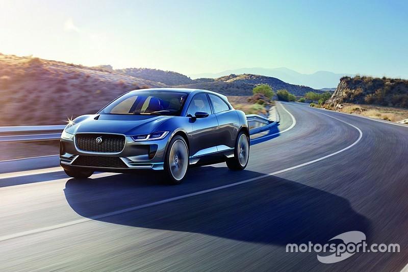 Jaguar dévoile l'électrique I-Pace Concept