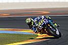 Rossi lidera las pruebas en Valencia