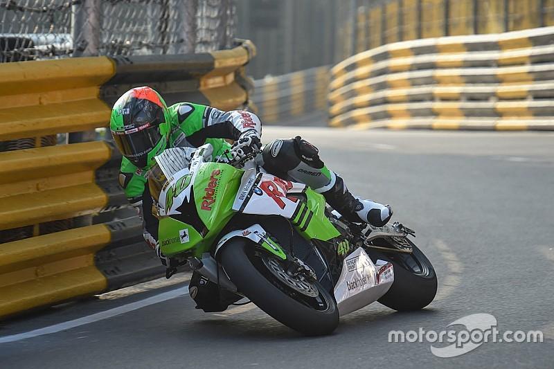 Motorrad in Macau: Martin Jessopp stiehlt Michael Rutter die Show