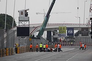 F3 Ultime notizie Ecco il video dell'incidente tra Sasaki e Ye a Macao