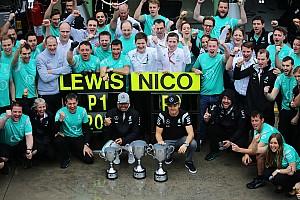 Fórmula 1 Noticias Hamilton y Rosberg llegan mejor que nunca a la carrera final, dice Mercedes