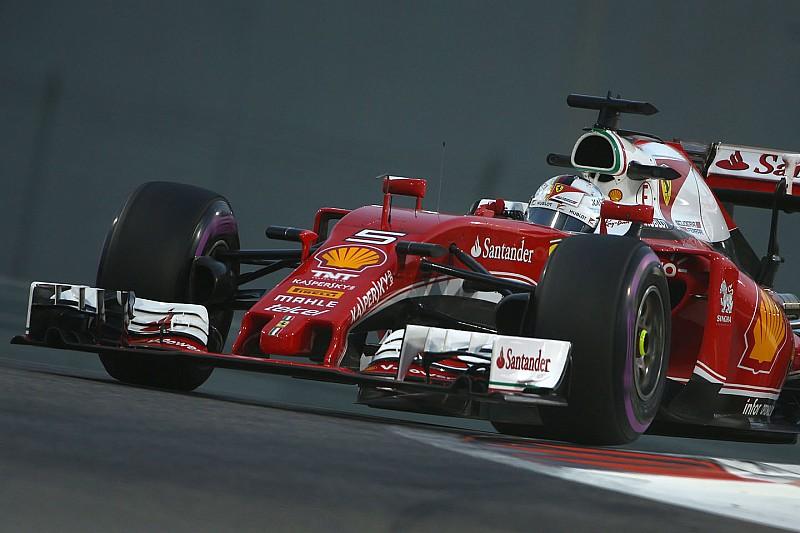 F1阿布扎比大奖赛FP3:维特尔领跑圈速榜,汉密尔顿动力单元出现隐患