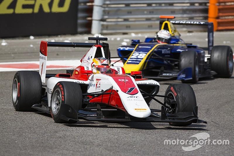 GP3 в Абу-Дабі: Леклер стає чемпіоном після сходу обох претендентів