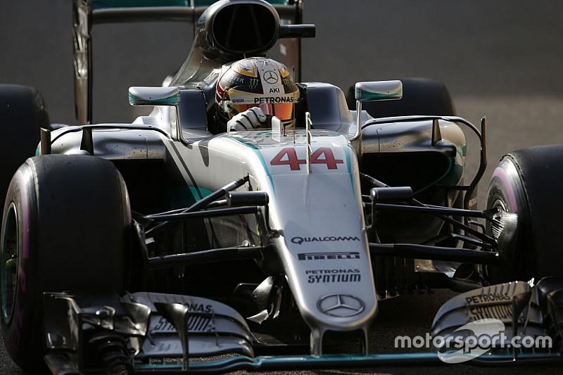 Formel 1 in Abu Dhabi: Sieg von Lewis Hamilton – Nico Rosberg ist Weltmeister