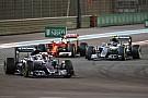 """【F1アブダビGP】ベッテル、ハミルトンのアプローチを非難。「""""汚い手口""""だ」"""