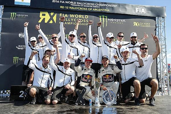 World Rallycross Ekström -