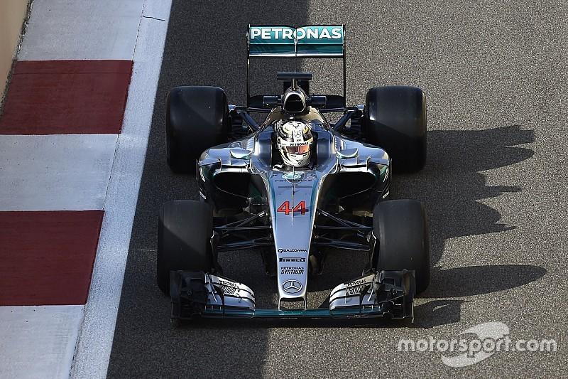 Merasa kurang sehat, Hamilton mundur dari tes Abu Dhabi