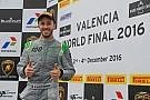 Lamborghini Super Trofeo Dovizioso stupisce sulla Huracán: due volte sul podio a Valencia!