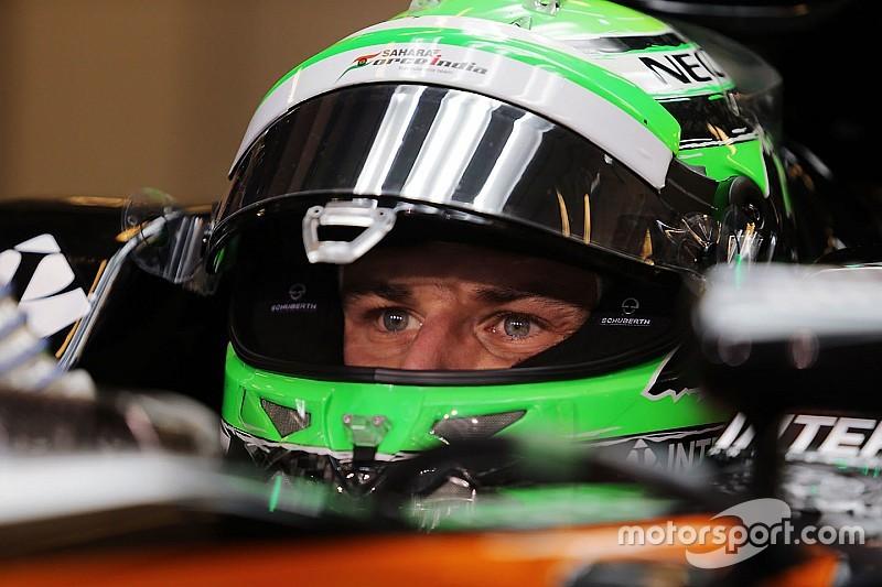 """Hulkenberg diz não """"chorar"""" por pódios perdidos na F1"""