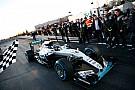 Відео: останній заїзд Ніко Росберга за кермом Mercedes W07