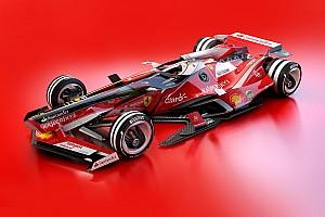 Галерея: футуристичний дизайн Ф1 2030 року — Ferrari і Red Bull