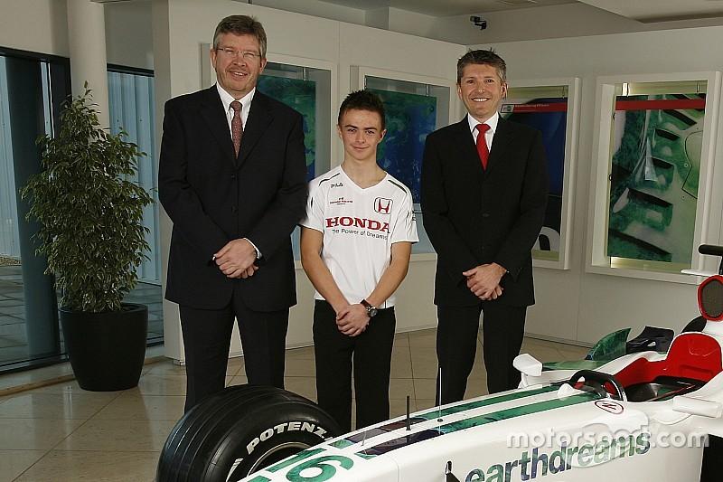 Quand Will Stevens avait signé chez Honda F1
