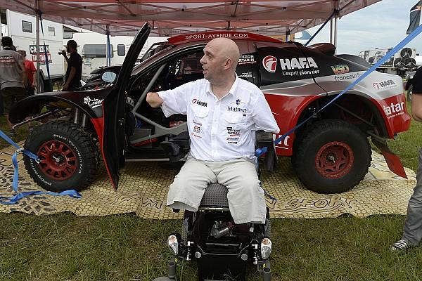 Dakar Special feature Het kan: zonder armen en benen deelnemen aan de Dakar Rally
