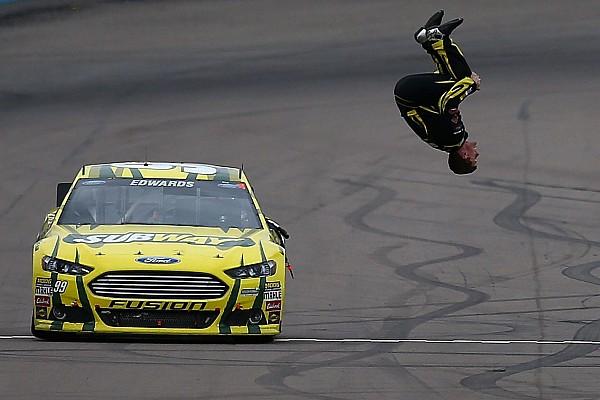 Человек-сальто. Из NASCAR ушел Карл Эдвардс