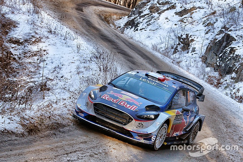 WRC Monte Carlo: Drama voor Neuville, Ogier neemt leiding over