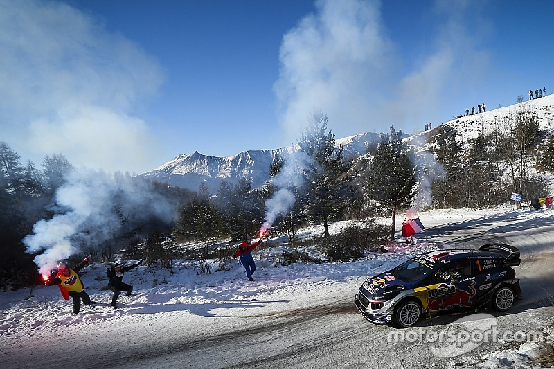 Аварії фаворитів на Ралі Монте-Карло