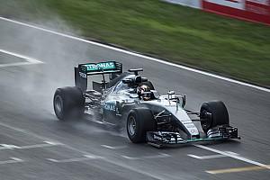 Formule 1 Actualités Une journée dédiée aux pneus pluie à Barcelone